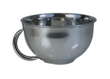 Stainless Steel Bowl Stock Photography
