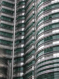 Stainless steel building Royalty Free Stock Images