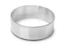 Stainless steel cooking mold Royalty Free Stock Photo