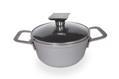 Stainless Steel Cookware Royalty Free Stock Images