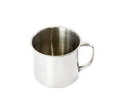 Stainless steel cup Royalty Free Stock Images