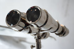 Stainless steel decorative binoculars Stock Photos
