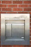 Stainless steel depository box Stock Image