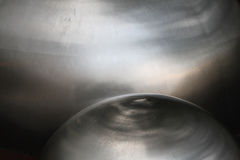 Stainless Steel domes. Abstract of stainless steel domes stock photography