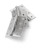 Stainless Steel Door Hinges Stock Photography