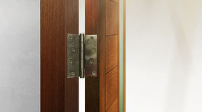 Stainless Steel Door Hinges Stock Images