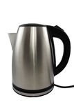 Stainless steel electric kettle Royalty Free Stock Image
