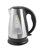 Stainless steel electric kettle Stock Image