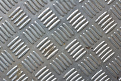 Stainless steel  floor Stock Images