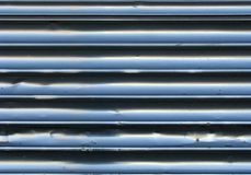 Stainless Steel Fluting Royalty Free Stock Photos
