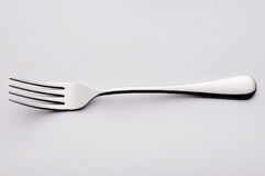 Stainless steel fork Stock Image