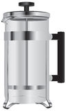 Stainless Steel French Press Stock Photo