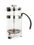 Stainless Steel French Press Royalty Free Stock Photography