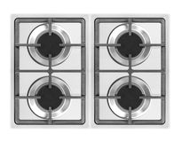 Stainless steel gas Royalty Free Stock Photo