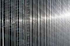 Stainless steel and glass building Stock Photos