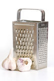 Stainless steel grater Stock Photo