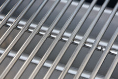 Stainless steel grill Stock Image