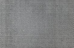 Stainless steel grille background Stock Photography
