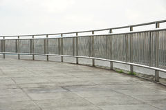 Stainless Steel Guard Rail Stock Image