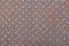 Stainless steel iron plate rust Florals texture background Stock Images