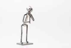 Stainless steel Jazz Clarinet Stock Photos