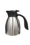 Stainless steel kettle isolated on white background Stock Photography