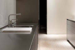 Stainless Steel Kitchen Stock Images