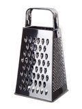 Stainless steel kitchen grater Royalty Free Stock Image