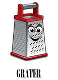 Stainless steel kitchen grater Stock Images