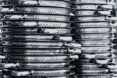 Stainless steel. Royalty Free Stock Photography