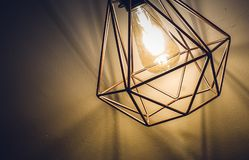 Stainless Steel Lamp Stock Photo