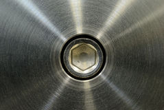 Stainless steel after machining Stock Photo