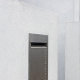 Stainless Steel Mail Box Royalty Free Stock Images