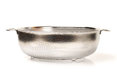 Stainless steel mesh basin Royalty Free Stock Photography