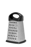 Stainless steel metal food grater. Stock Photography