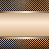 Stainless steel metal vector background. Stock Photo