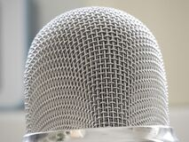 Stainless Steel Microphone Stock Photos
