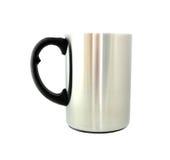 Stainless steel mug  Royalty Free Stock Image
