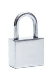 Stainless steel padlock Stock Images