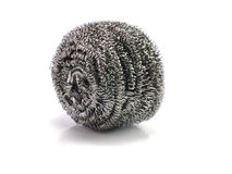 Stainless steel pan scourers Royalty Free Stock Photos