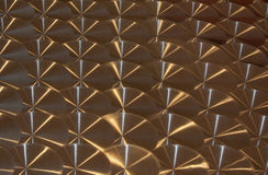 Stainless Steel Pattern Background. A Stainless steel patterned background Stock Photos