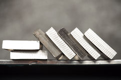 Stainless steel Royalty Free Stock Image
