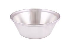 Stainless steel pot Royalty Free Stock Photo