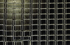 Stainless steel profiles Stock Image