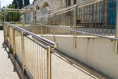 Stainless steel railings Stock Photos