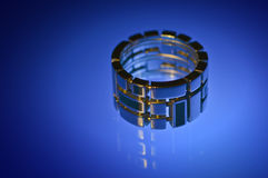 Stainless steel ring Royalty Free Stock Photos