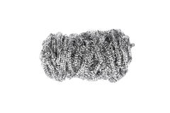 Stainless steel scourer Royalty Free Stock Photos