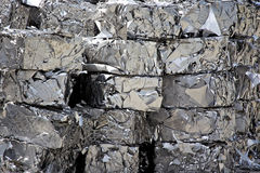 Stainless Steel Scrap Royalty Free Stock Photos