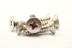 Stainless Steel Screw Royalty Free Stock Photo
