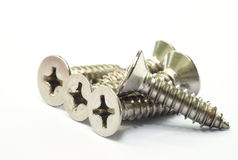 Stainless Steel Screw with Philip Head Stock Image